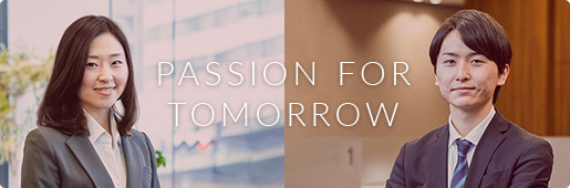 PASSION FOR TOMORROW